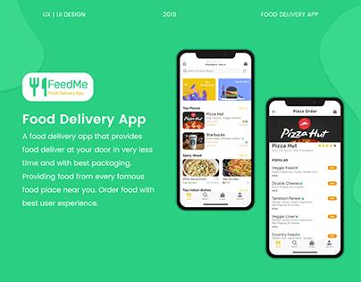 Feed Me ( Food Delivery App) UI/UX