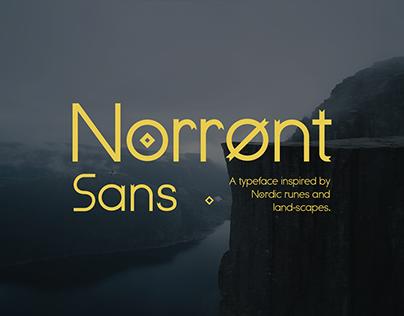 Norrønt Sans : A Free Sans Serif Typeface