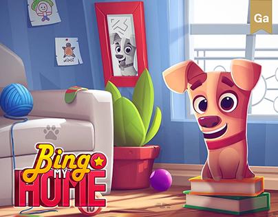 Bingo My Home • Game Art