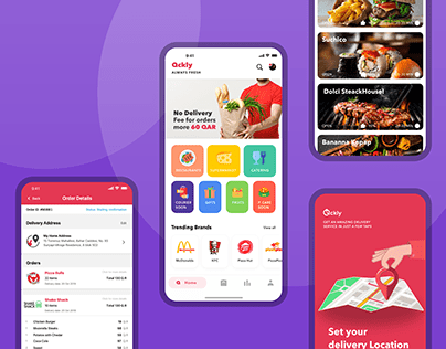 Qckly Shopping Mobile App