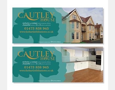 Cautley House, a Gipping Homes development - Signage