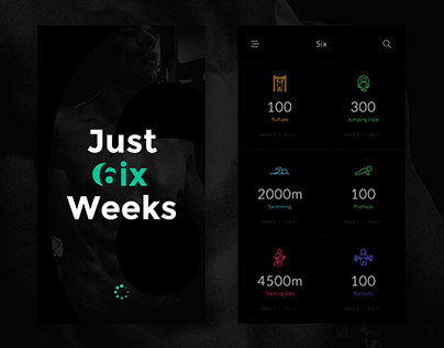 Fitness/Gym App Design