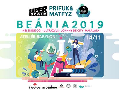 Beánia 2019 - PRIFUK & MATFYZ - poster and tickets