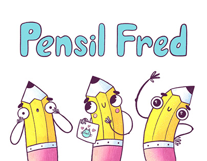 Character Design - Pencil Fred