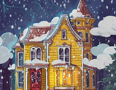 Vovka Stories illustrations