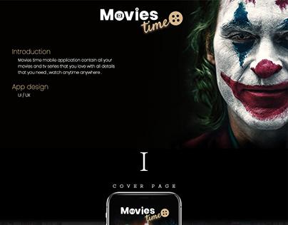 Movies App UX&UI