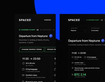 SPACED. Branding & Concept Design