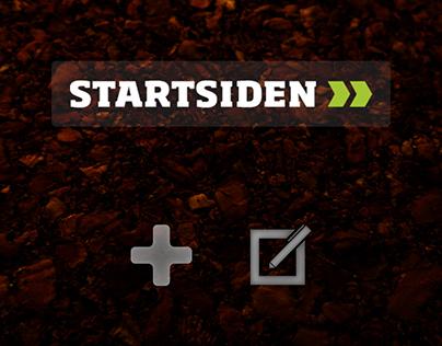 Startsiden - Webdesign