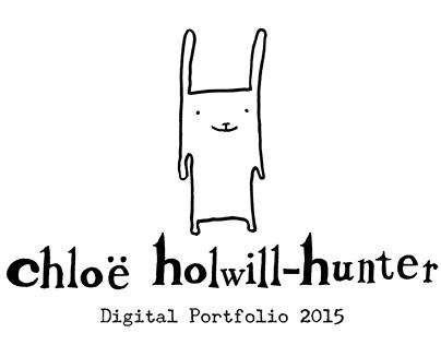 Chloë Holwill-Hunter - Digital Portfolio 2015