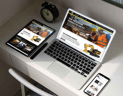 Dashboard program portal : Responsive for all devices