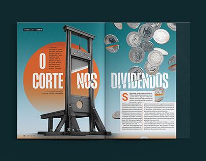 O corte nos dividendos   Revista VC S/A