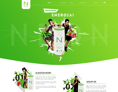 Neon | Natural Energy Drink