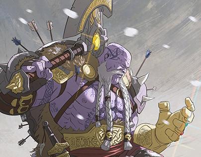 Viking Thanos.