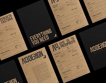 A13 Design - branding