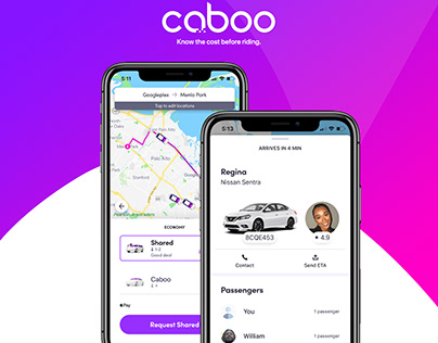 Caboo - Know the cost before riding.