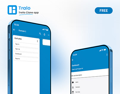 Tralo   Free Trello Clone Flutter UI Kit