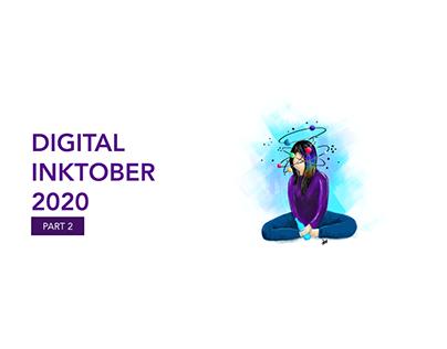 Digital Inktober 2020 - Part 2