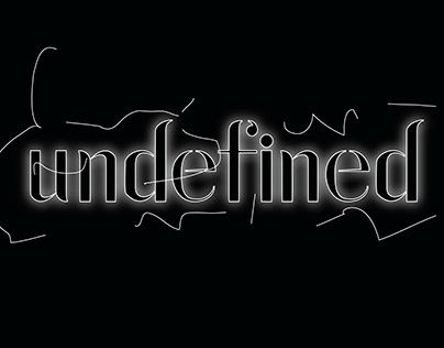 undefined typeface