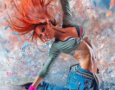 Dancer Study - Self Promotion