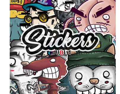 Stickers collection Vol.1