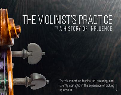 The Violinist's Practice