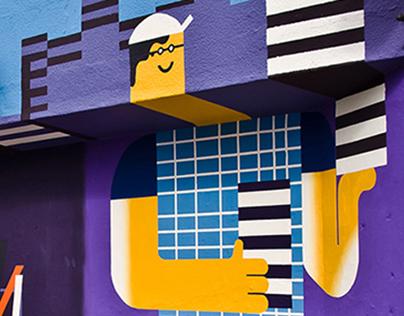 Mural for Samsung