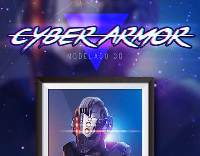 Modelado 3D • Cyber Armor