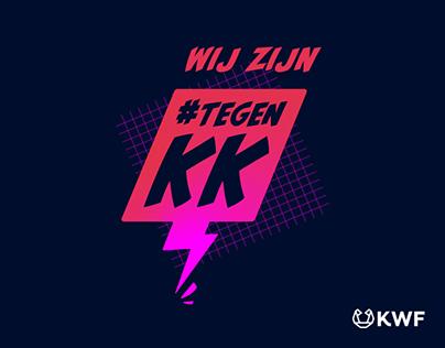 Campagne KWF - Strijd mee #tegenKK
