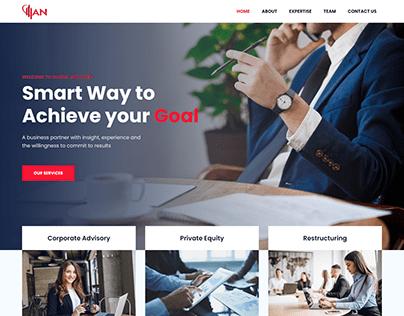 Financial Advisors   Web Design   Bootstrap