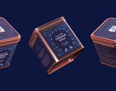 Tea Trunk Ruskin Bond- Limited Edition Packaging Design