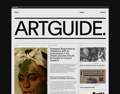 ARTGUIDE / NEWS / ©2020