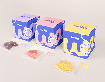 Waily | Fruit Water Supplement Brand | Package/UXUI