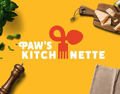 Paw's Kitchenette | Brand Identity