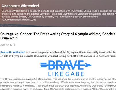 Brave Like Gabe (blog post)