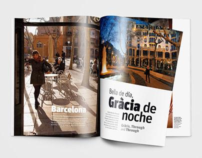 Barcelona - Revista Escala Aeroméxico