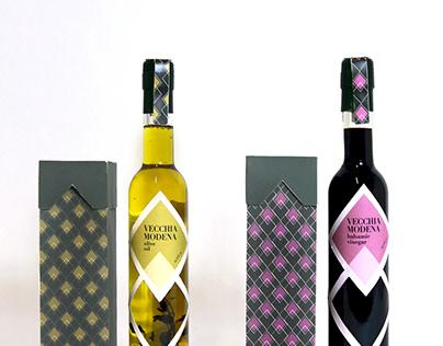 Olive Oil & Balsamic Vinegar Packaging