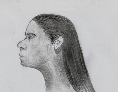 Estudio para retrato