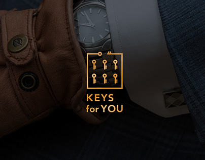 "Logo and branding for showroom ""Keys for you"""