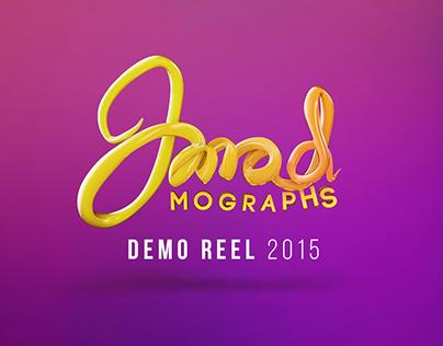Imad Mograph 2015 - Motion Graphics Demo Reel