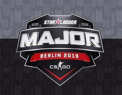 Concept sticker StarLadder Major