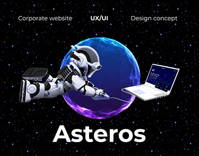 Asteros Corporate Website