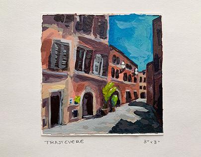 Tiny Italy Paintings