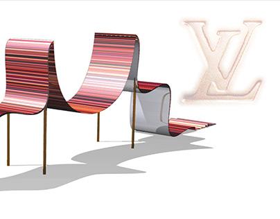 mobilier lounge Louis Vuitton