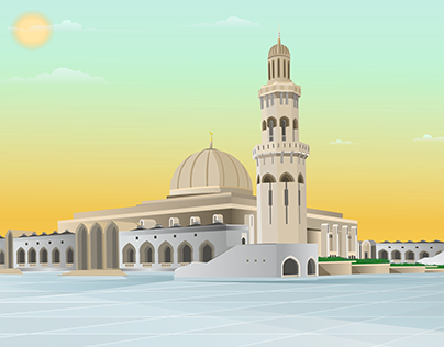 مسجد قبة الصخرة Projects Photos Videos Logos Illustrations And Branding On Behance