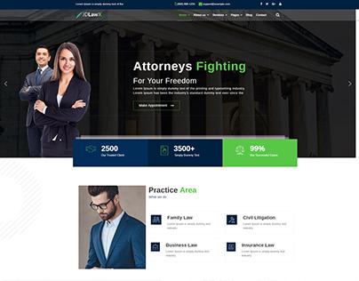 JD LawX - Responsive Lawyer Joomla Template