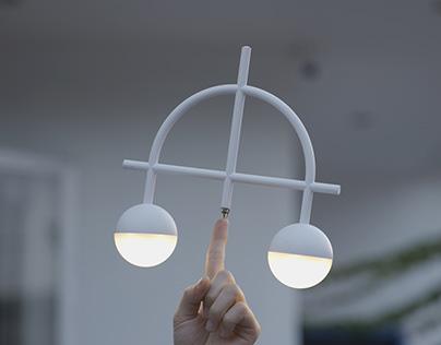 Lybra Balance Lamp