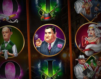 """Slot machine - """"Mafia hunt"""""""