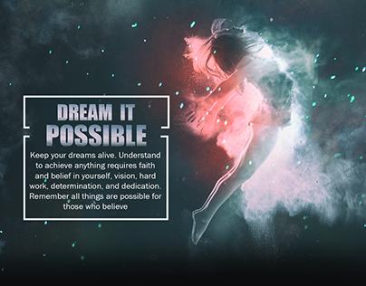 Dream It Possible | New 10 Designs