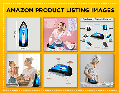 Amazon Product Listing, Infographic and Lifestyle