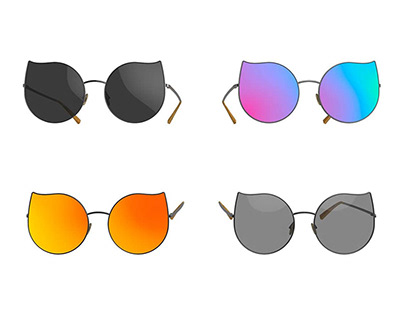 Cateye- Sunglasses